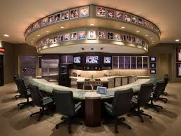 themed family rooms interior home theater: eco friendly viewing themed home theaters  nba theme home theaterjpgrendhgtvcom
