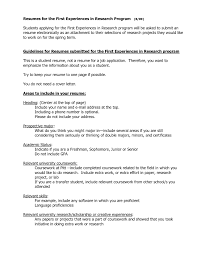 Examples Resumes Job Resume Barista Duties For Sample First Page Of
