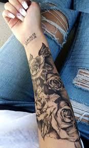 Female Half Sleeve Tattoos Designs Tattoos For Women Half Sleeve Meaningful Roses Fresh Black