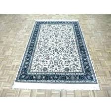 dog area rugs themed beige orange rug reviews one of a kind hand knotted bamboo design