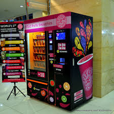Smoothie Vending Machine Gorgeous JOMMAKANLIFE NEW ONTHESPOT FITGO SMOOTHIE
