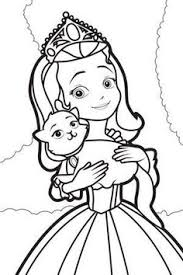 Small Picture Sofia the First coloring picture Coloring Pages 2 Pinterest