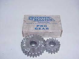 Details About Quartermaster Set 30 Quick Change Rear End 6 68 7 89 Gear 10 Spline Sprint Nn43