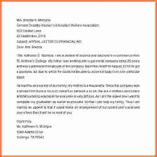 Academic Appeal Letter Cool 44 Appeal Letter For Financial Aid Valuefilmsnet