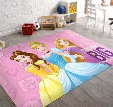 soft and non slip back disney marvel area rugs princess