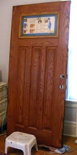 how to stain a door how to finish a fiberglass door to look like wood i y i how to stain a door how to a fiberglass exterior door gel
