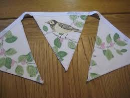 Advertisement - Laura Ashley Aviary Garden Birds Handmade Bunting Double  Sided 10 Flags in 2020 | Bird garden, Fabric birds, Handmade
