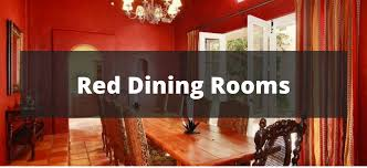 40 Red Dining Room Ideas For 4018 Best Red Dining Rooms Collection