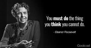 Quotes Eleanor Roosevelt