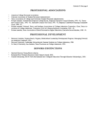 Catherine Clack's resume page 4