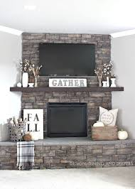 get your fall on gorgeous fall mantels