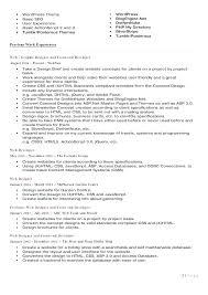 Freelance Web Designer Resume Sample Web Designer Resume Web Design