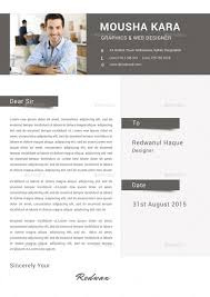 Creative Cover Letters 02 Creative Simple Cv Resume Coverletter