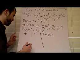 Descartes Rule Of Signs M4v