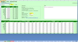 Free Budget Download Free Comprehensive Budget Planner Spreadsheet Excel