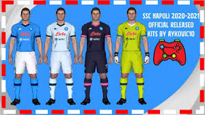 PES 2017|SSC Napoli 2021 Official Released Kits