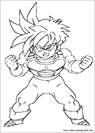 dragonball z coloring pages dragon ball best of free