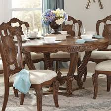 moorewood park pecan round dining table
