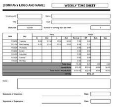 Office Timesheet Template Magdalene Project Org
