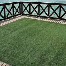 Artificial grass Roof Image Unavailable Amazoncom Amazoncom Indooroutdoor Turf Rugs And Runners In Green 6