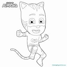 Coloring Pages Astonishing Freeable Pj Masks Coloring Pages Disney