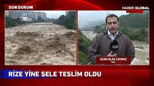 Son Dakika Rize'deki sel felaketinde son durum