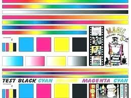 Printer Test Page Color Printer Test Page Colour Arcadexme