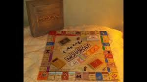 Wooden Monopoly Board Game Wooden RusticMonopoly unboxing YouTube 73