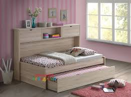 ... Kids room, Pepito King Single Captains Trundle Bed With Bookcase Is A  Very Modern And ...