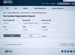 Irs Debuts New And Improved Exempt Organization Search