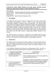 b health operations protocol