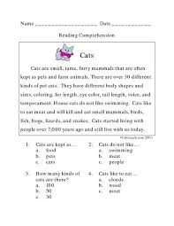 Our grade 3 grammar worksheets focus on the various parts of speech (nouns, verbs, pronouns, etc.) and the construction and punctuation of proper sentences. 3rd Grade Reading Comprehension Worksheets To Download Reading Comprehension Worksheets Reading Comprehension Lessons Comprehension Worksheets