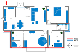 plumbing and piping plan softwarefree printable home plumbing and piping plan example