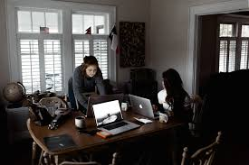work from home office. More Millennials Are Making The Short Commute From Their Bedroom To Home  Office. In Fact, Forbes Notes That Work Trend Has Taken Off, Office