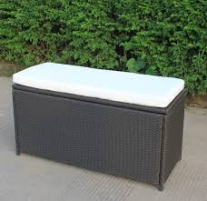 impressive outdoor wicker storage bench of seat with furniture ideas pertaining to stylish along with stunning
