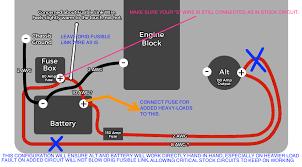 130 amp alternator and wiring job 1988 3 0 v6 yotatech forums 3 Wire Alternator Connections name wiringupgrade_rad4runneredit jpg_zpsnbqx61na png views 287 size 226 7 kb 3 wire alternator connections diagram