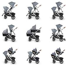 uppababy vista seating configuration for two kids
