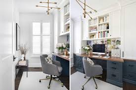 small office home office design. Narrow Home Office. Vanessa Francis Design Small Office
