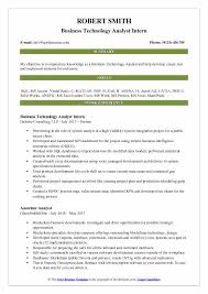 Business Systems Analyst Resume Sample Awesome Business Technology Analyst Resume Samples QwikResume