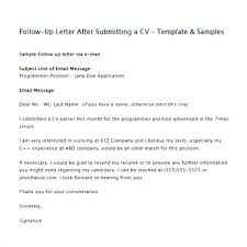 Follow Up Email After Resume Submission Sample Best of Sample Follow Up Email After Submitting Resume Sample Follow Up