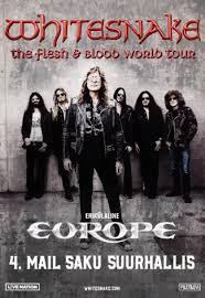 <b>WHITESNAKE</b> - <b>Flesh</b> & Blood World Tour - 04.05.2020 - Saku ...