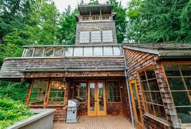 Tree House Architecture This Gorgeous Tree House Tower Was Built Using Repurposed Timber