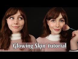 asmr relaxing makeup tutorial whispered