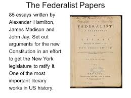 federalists vs anti federalists ppt video online  the federalist papers