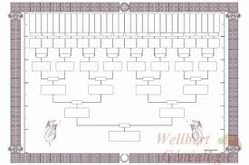 6 Generation Family Tree Chart Template Fillable 6 Generation Family Tree Elegant Printable 6