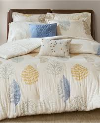 madison park mina 7 pc cotton flannel reversible king california king duvet cover set blue