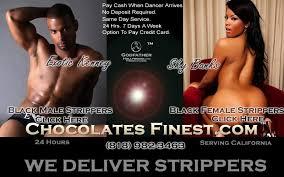 Adult black exotic dancers