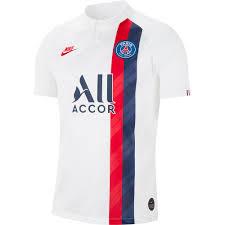 Nike Maglietta Paris Saint Germain Terza Breathe Stadium 19/20 Bianco,  Goalinn