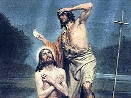 Kuvahaun tulos haulle jeesuksen kaste Jordanissa
