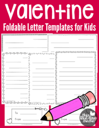 Valentines Day Letter Template Free Valentine Letter Templates For Kids Valentines Day